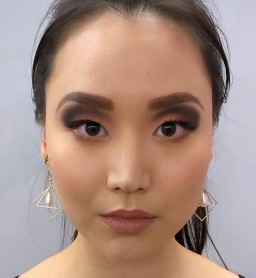First professional makeup