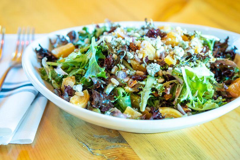 Farro & beet salad