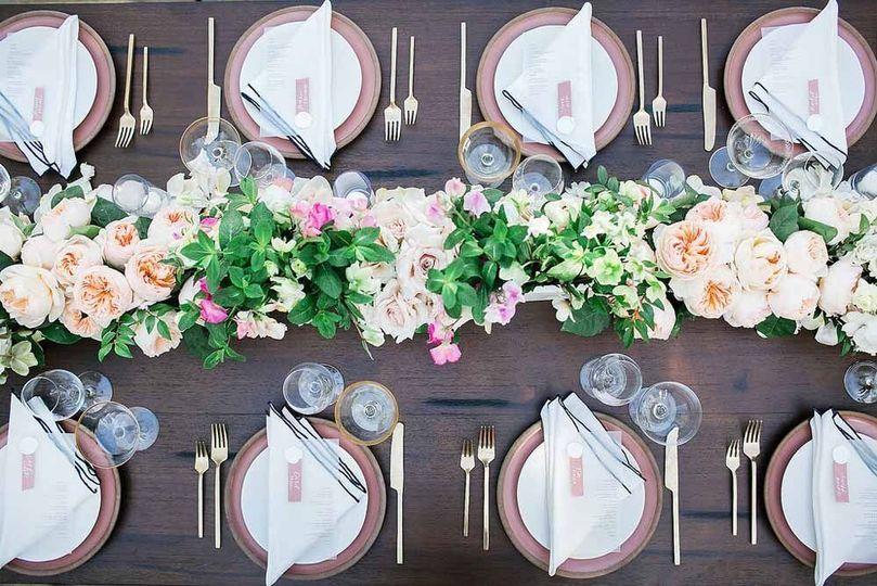 Reception tabletop