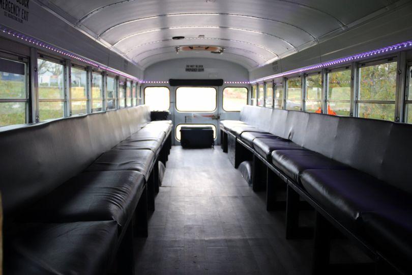 Inside of bus #2.