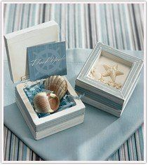 A favor box that is perferct for a nautical affair! Great guest goodies to-go might include...