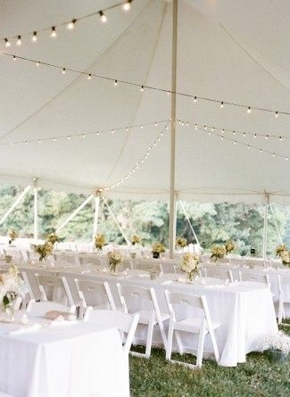 Mid July tented reception at Locust Grove. Photo by Whitney Neal Photography