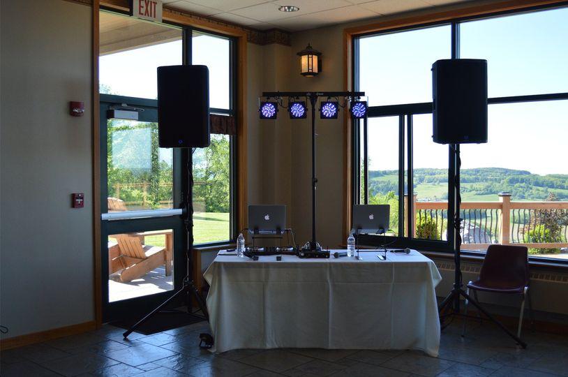 Setup At Skyline Lodge