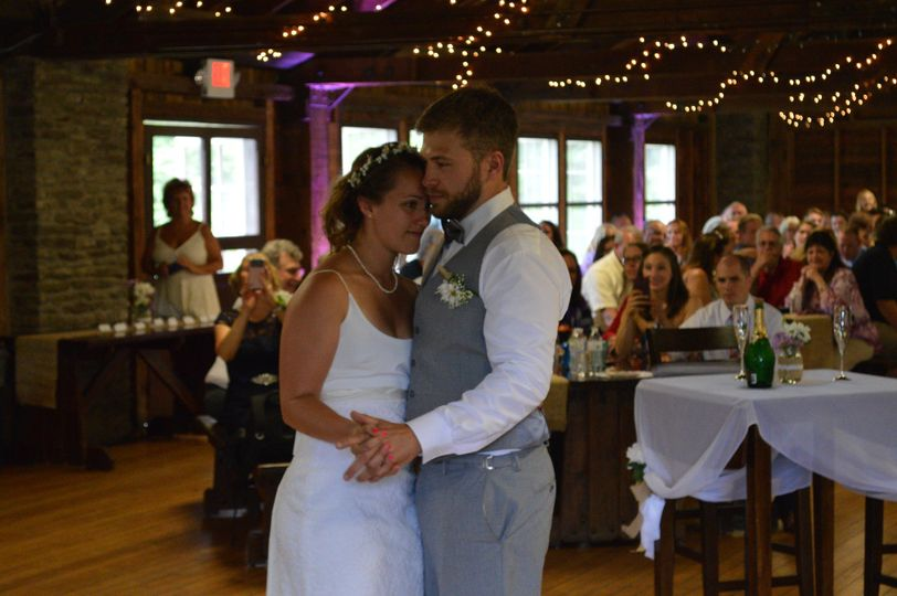 First Dance at Camp Brockway