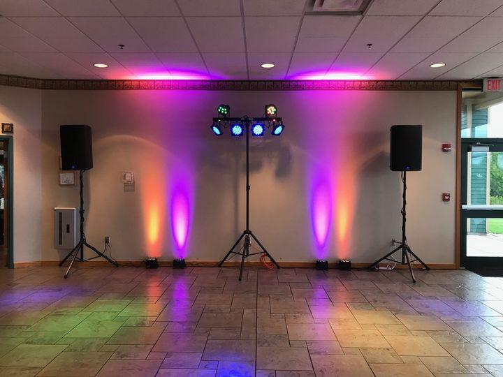 Dance floor at Skyline Lodge