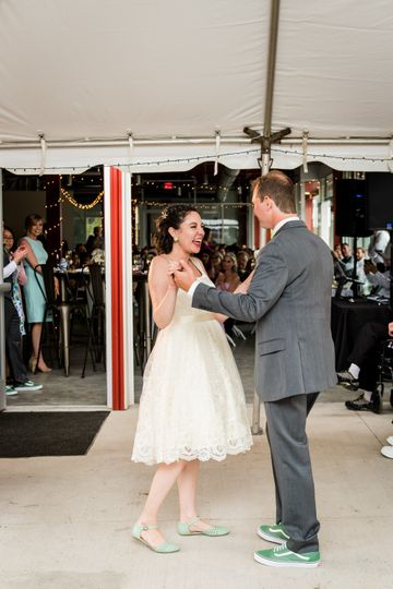 First Dance at The Rail Line