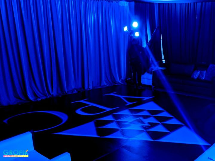 YPO custom dance floor