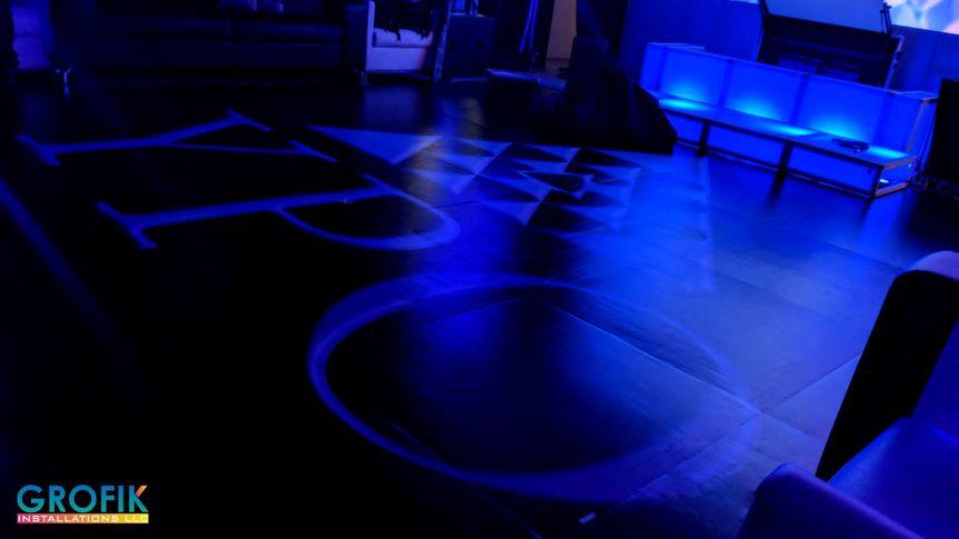YPO Party custom dance floor