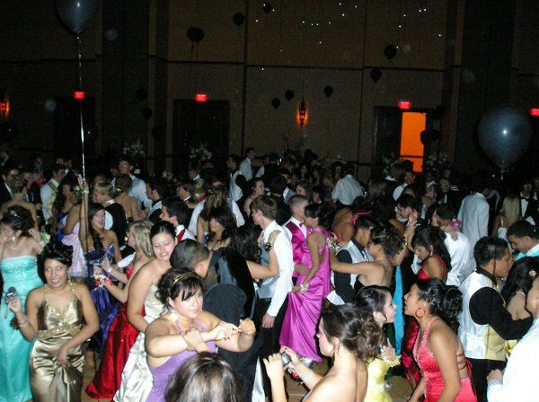 308 STUDENTS RUSHED TO THE DANCE FLOOR TO LET LOOSE AND ENJOY THEMSELVES.