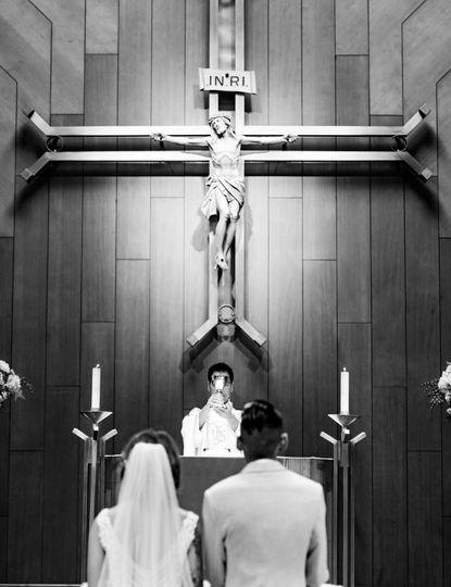 Ceremony in progess