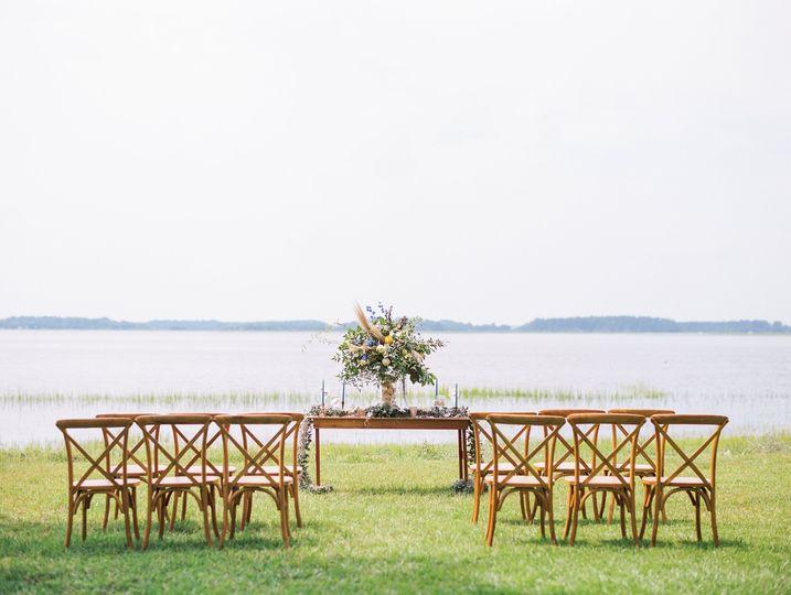 A coastal ceremony