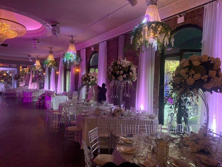 Ballroom Brick Decor