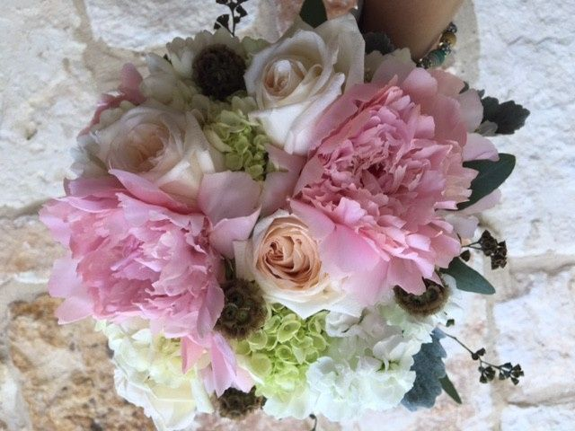 Tmx 1467063646170 Peony And Hydrangia Bouquet Rockwall, Texas wedding florist
