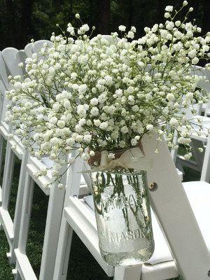 Tmx 1467138858281 Babies Breath Mason Pew Marker Rockwall, Texas wedding florist