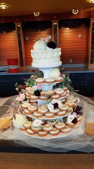 Delectable wedding desserts
