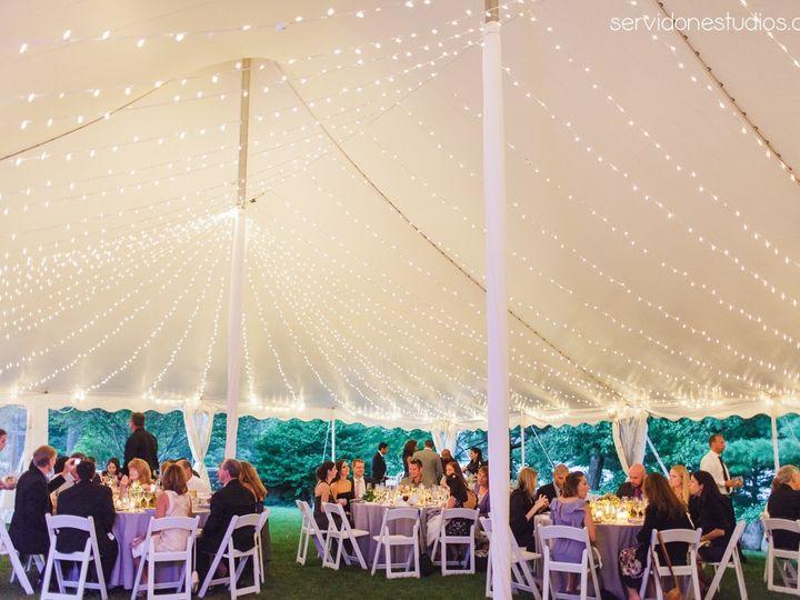 Tmx 1467225687196 Pole Tent Clear Siding Twinkle Lighhts Gloucester wedding rental