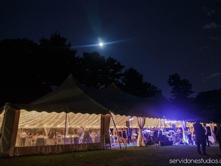 Tmx 1467225913886 Pole Tent At Night Twinkle Lights Gloucester wedding rental