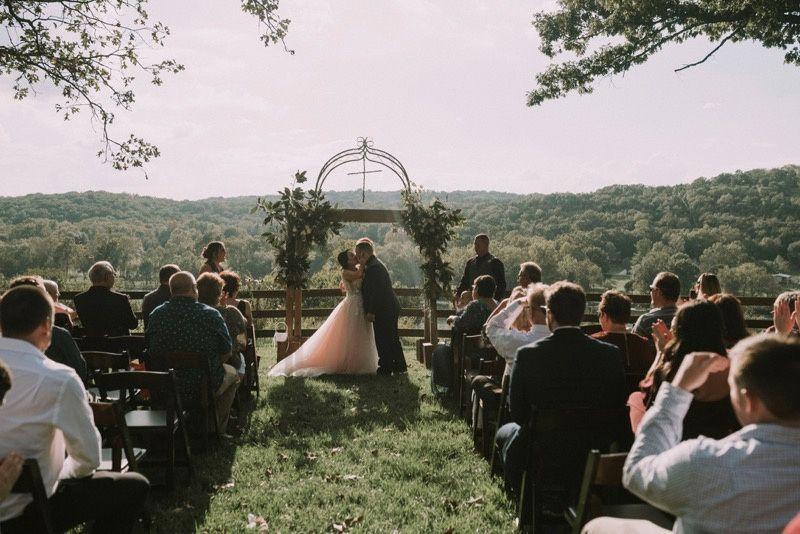 Wedding kisses | Aurora Dawn Photography