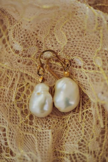 Pearls for the bride