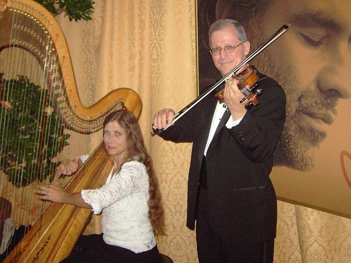 Tmx 1359098263023 ViolinHarp2 Magnolia wedding ceremonymusic