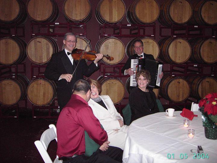 Tmx 1359098288465 ViolinAccordionWineCellar Magnolia wedding ceremonymusic