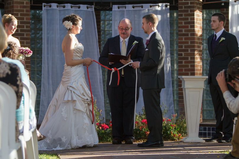 A unity knot ceremony