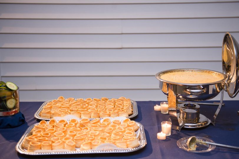 Hot Crab Dip with Pastries