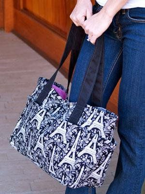 This is one of our larger purses that can be used as a beach bag, school bag or even an overnight...