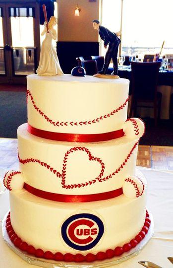 Vanilla Sugar Bakery - Wedding Cake - Winfield, IL - WeddingWire