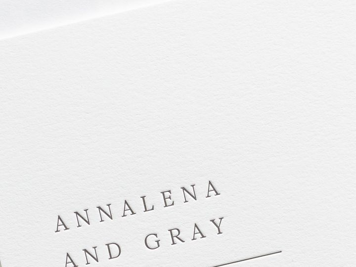 Tmx Annalena Letterpress Wedding Invitations 2 51 410067 Rochester, New York wedding invitation