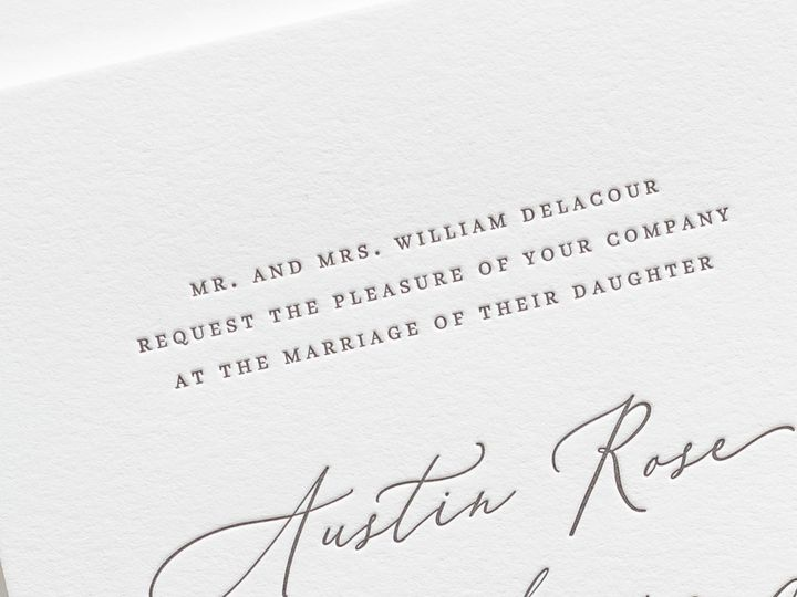 Tmx Austin Letterpress Wedding Invitations 2 51 410067 Rochester, New York wedding invitation