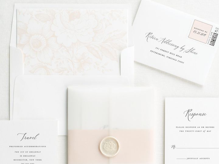 Tmx Natalie Vellum Wedding Invitations 3 51 410067 Rochester, New York wedding invitation