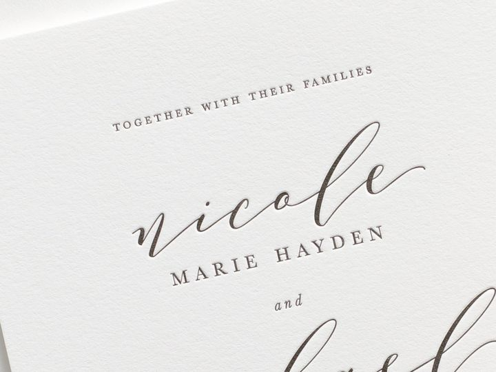 Tmx Nicole Letterpress Wedding Invitations 2 51 410067 Rochester, New York wedding invitation