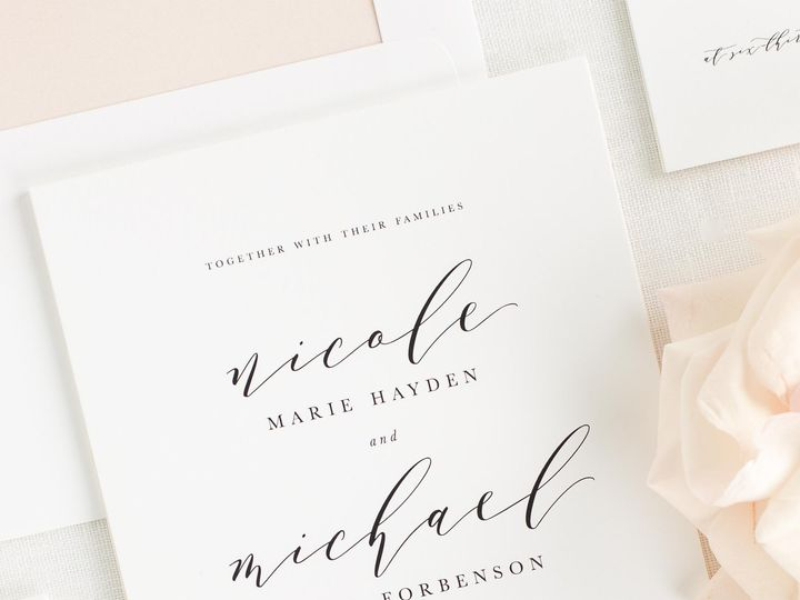 Tmx Nicole Wedding Invitations 1 51 410067 Rochester, New York wedding invitation