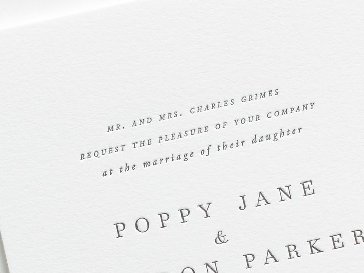 Tmx Poppy Letterpress Wedding Invitations 2 51 410067 Rochester, New York wedding invitation