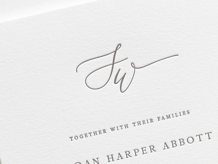 Tmx Sloan Letterpress Wedding Invitations 2 51 410067 Rochester, New York wedding invitation