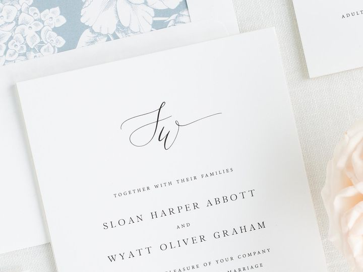 Tmx Sloan Wedding Invitations 1 51 410067 Rochester, New York wedding invitation