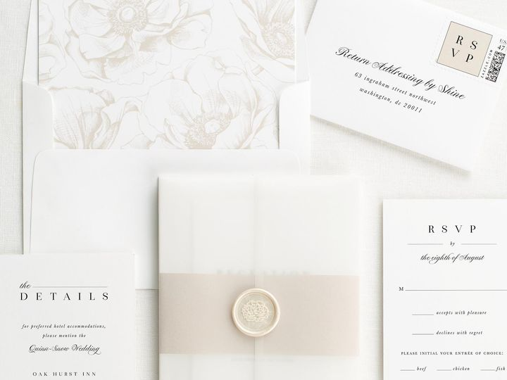 Tmx Zarah Vellum Wedding Invitations 3 51 410067 Rochester, New York wedding invitation