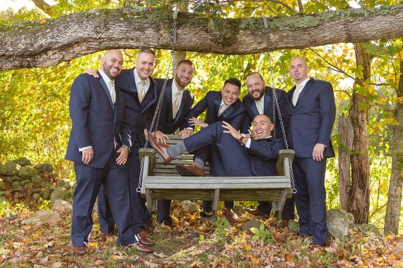 Groomsmen - Fall Wedding