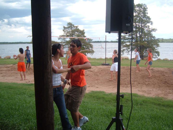 Lake Party dancing