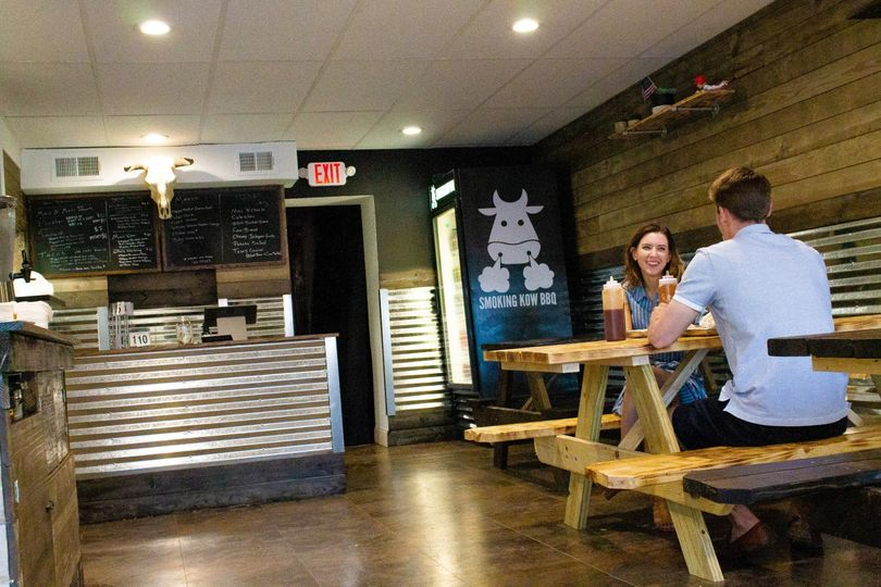 Restaurant interior look