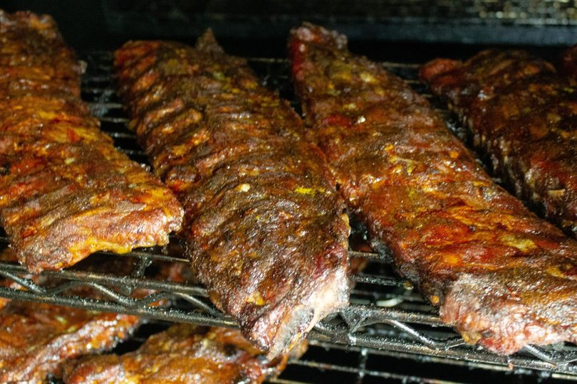Ribs doing their thing