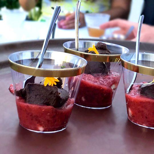Chocolate | Strawberry Rhubarb
