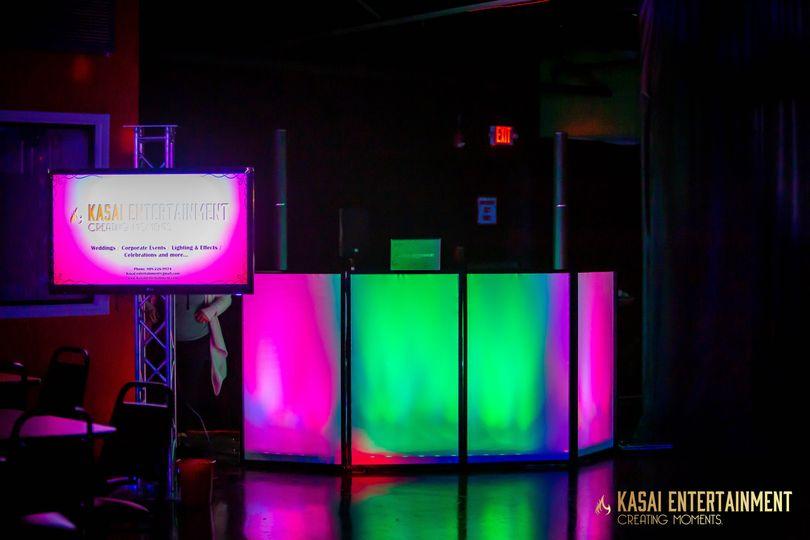 Uplighting with Facade (Kasai)