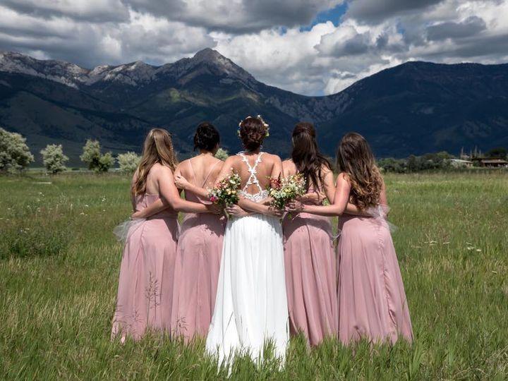 Tmx Bozeman Mt Brides With Bridesmaids 51 1024067 Billings, Montana wedding planner