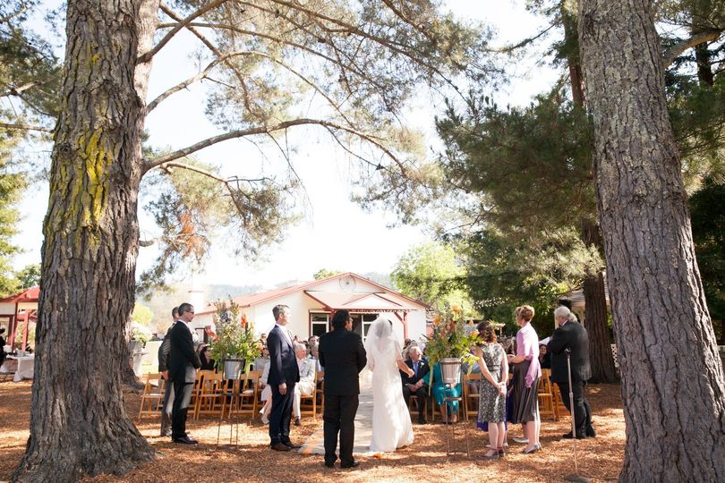 Ceremony in Marin county