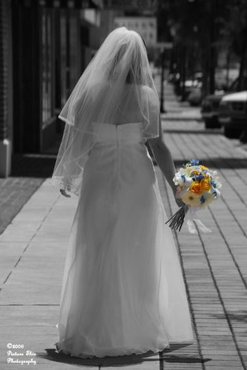 Sara made such a beautiful bride!