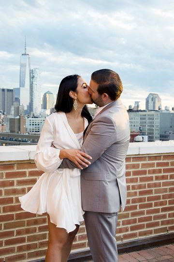 The Bowery Hotel Elopement