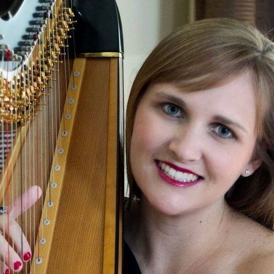 Emily and her harp