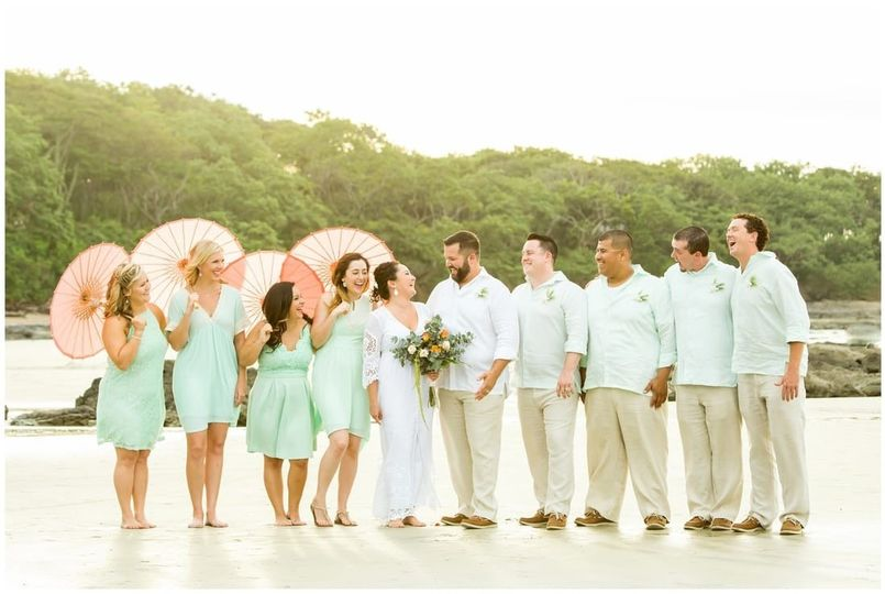 Bridal Party Tamarindo